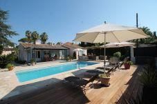 Villa à Antibes - Belle villa avec piscine au cap...